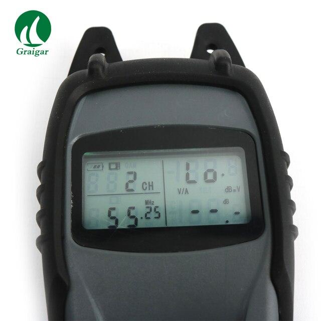 DS2003 indicateur de niveau de signal portable mesure de puissance de canal numérique et inclinaison de 6 canaux