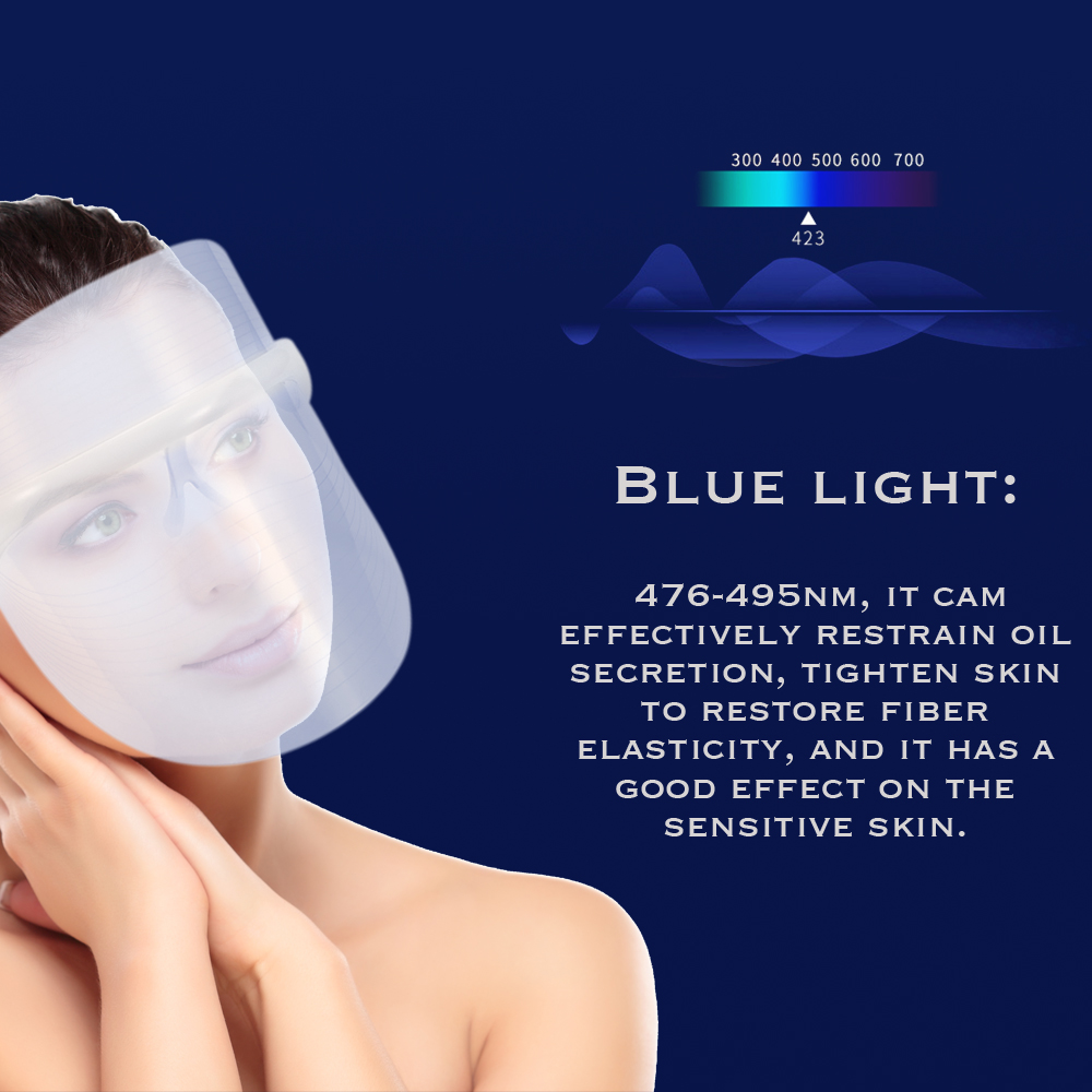 LED Light Photon Face Mask Skin Rejuvenation Wrinkle Removal Facial Spa Anti Wrinkle Removal Spot Face Spa SkinLED Light Photon Face Mask Skin Rejuvenation Wrinkle Removal Facial Spa Anti Wrinkle Removal Spot Face Spa Skin