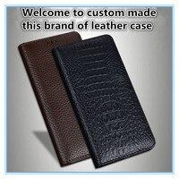 TZ15 Magnet genuine leather flip cover for Asus Zenfone 2 Laser ZE601KL phone case for Asus Zenfone 2 Laser(6.0') flip case