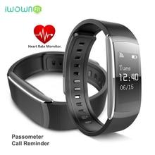 Iwown i6 pro Smart Браслет Heart Rate Спорт трекер inteligente смарт-браслет для Android IOS PK Xiaomi Группа 2 Водонепроницаемый IP67