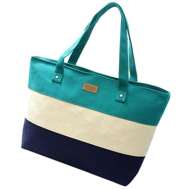 Женская мода Отдыха холст сумки