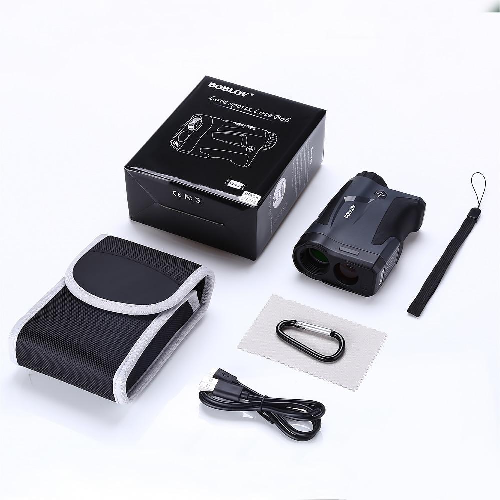 BOBLOV 6X digital Golf Range Finder hunting rangefinder Distance Meter entfernungsmesser afstandsmeter telemetre laser de golf in Laser Rangefinders from Tools