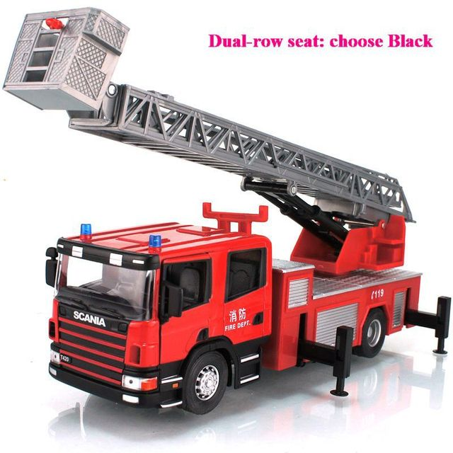 Agree, rather big fire truck toys apologise, but