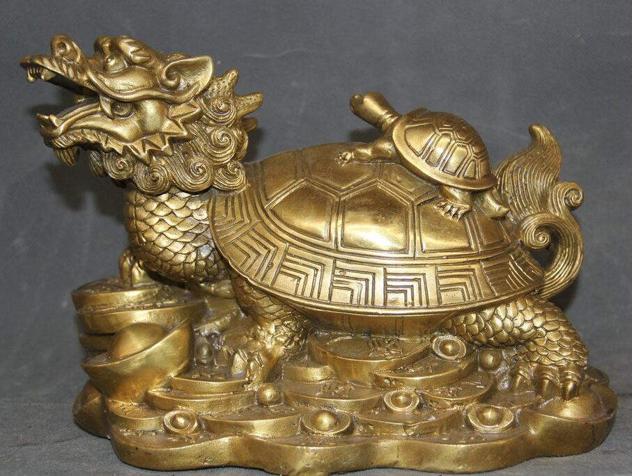 Details about  9 Chinese Feng Shui Brass Dragon Turtle Tortoise Wealth Mother Son Rich Statue Details about  9 Chinese Feng Shui Brass Dragon Turtle Tortoise Wealth Mother Son Rich Statue
