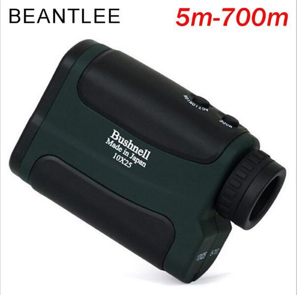 700 m Laser Télémètre Portée 10X25 Optique Jumelles Chasse Golf Laser Range Finder Extérieure Mètre de Distance Mesure Télescope