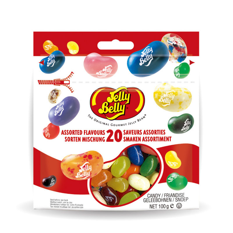 Jelly Belly 100g Snack Confection Candy Bean Strange Taste Harry Potter Beans Candy Bean Boozled Gift Bag Kid Food Christmas