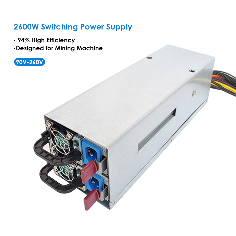 New for Mining Switching Power Supply 94% High Efficiency for asic antminer l3 Ethereum S9 S7 L3 Rig psu Mining machine Computer