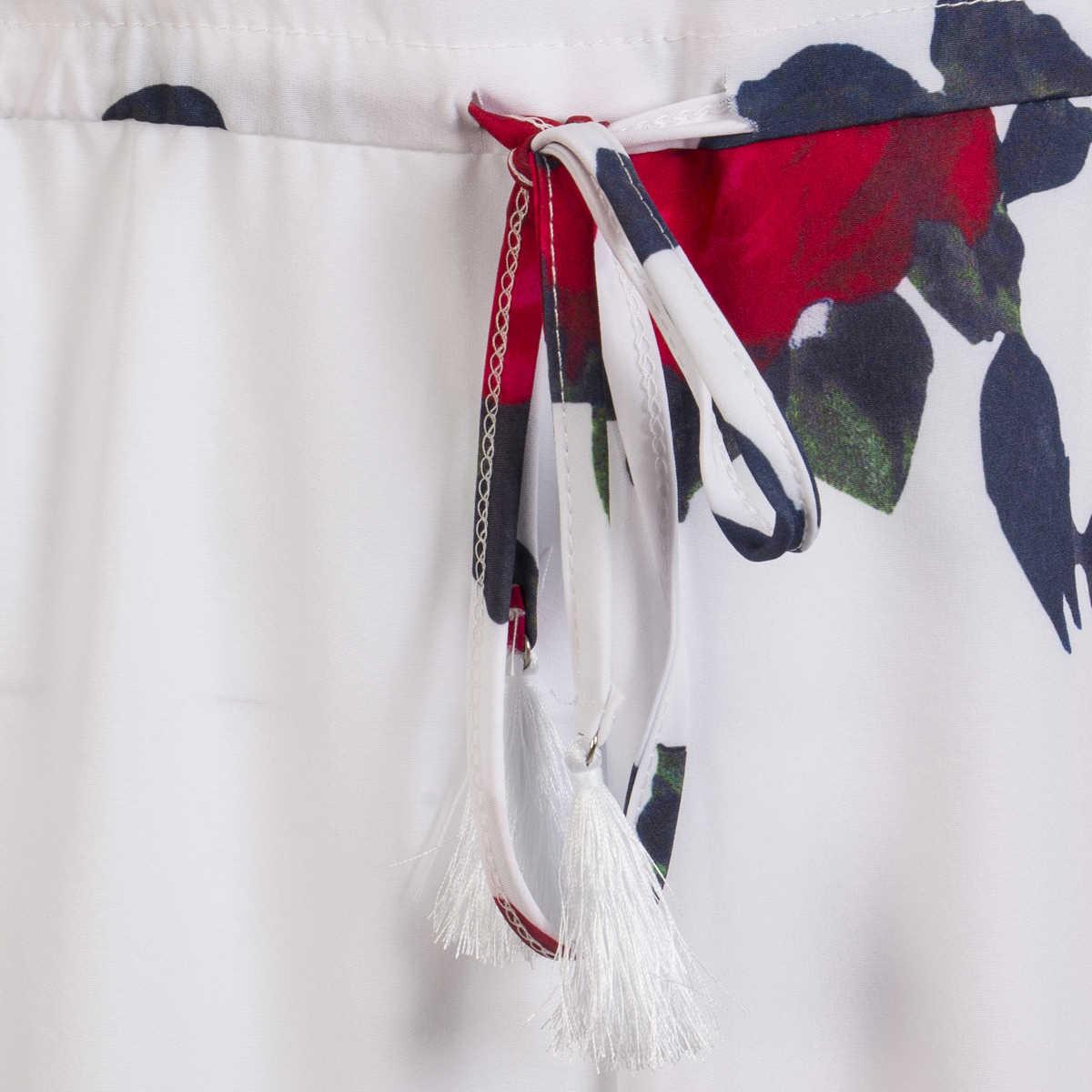 Мода Boho Для женщин Праздник Новый уникальный дизайн с вырезом лодочкой ключицы Соблазнительные шорты комбинезон летний Повседневное пляжный комбинезон, Ромпер пикантные