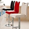 Европейский способа высокого качества PU leathe барный стул высокий ног табурет подъема стул регулируемая высота бесплатная доставка