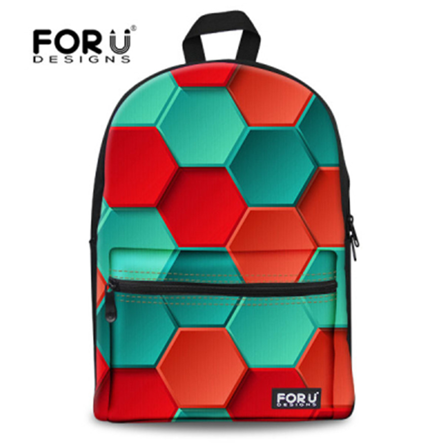 Cute Teenage Girls Geometric Grid Designer Back Packs For Book Candy Mixed Colors Backpacks High