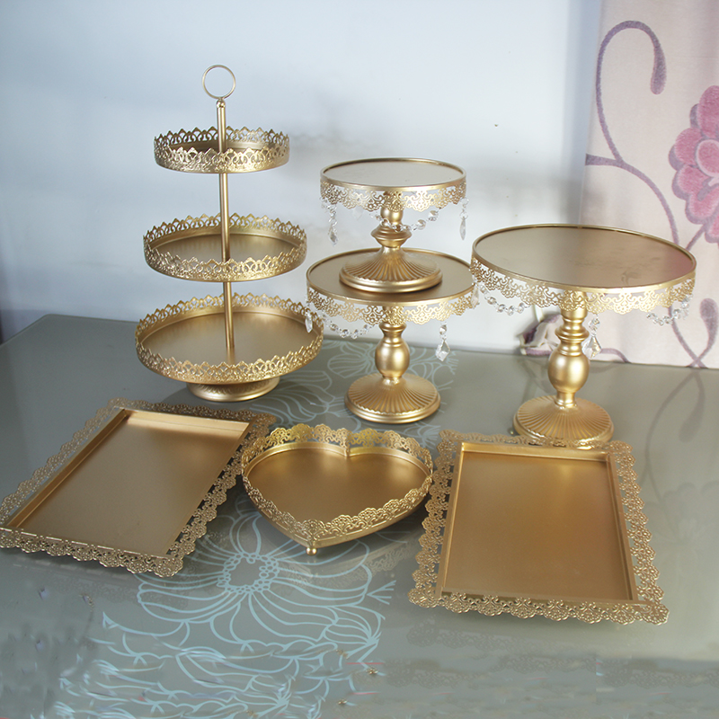 Popular gold cupcake stand buy cheap gold cupcake stand for Decoration stand