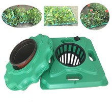DIY plastic artificial ecological floating island anti-wind bed aquatic plant for horticultural plantin