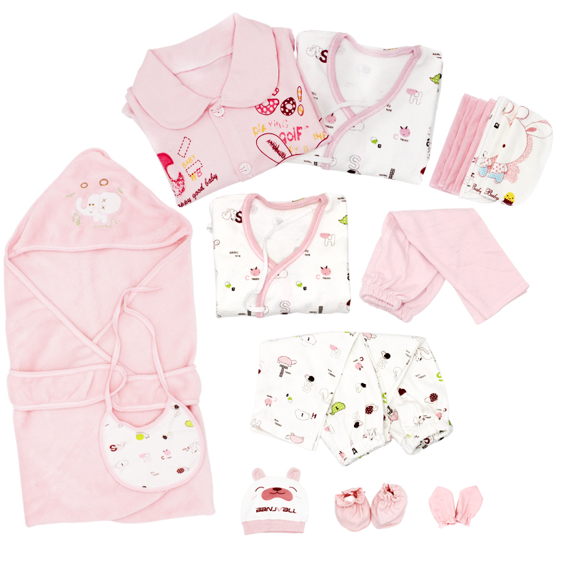 21 Pcs/Set Cotton Newborn Baby Clothing Set for Girls Boys Toddler Baby-clothes New Born Gift Set olat new born baby clothing set 3 pcs coat jacket vest clothes set 100