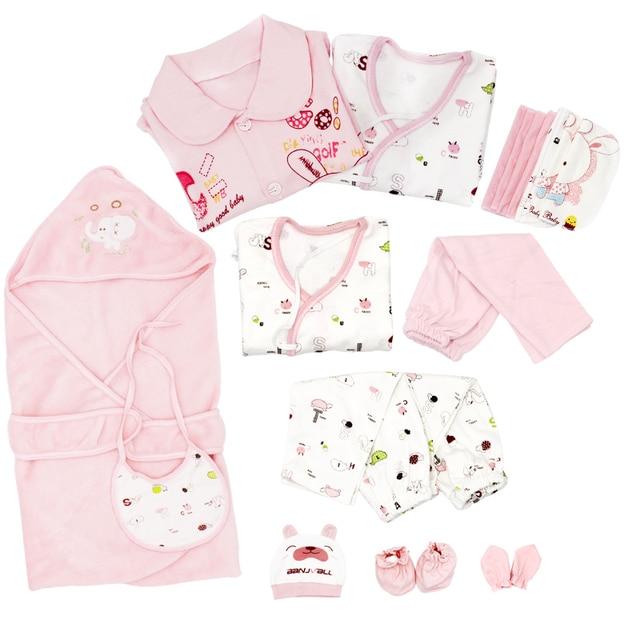 720cd1c105dbc 21 قطعة المجموعة القطن الوليد ملابس الطفل مجموعة للفتيات الفتيان طفل الطفل- الملابس مولود