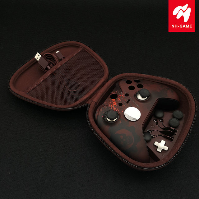 For XBOX ONE Elite Controller Housing Shell Bumper Backside Case Cover LB RB Button Grips  For Gears of War Rubber Grip