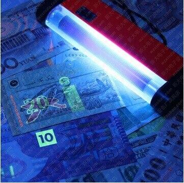 10 шт. Портативный УФ ультрафиолетовый светодиодный свет факела Лампа ID Card банкнота валют деньги детектор