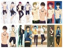 Anime Dakimakura Cơ Thể Tự Do! IWatobi Bơi Câu Lạc Bộ 150X50Cm 100X35Cm Gối Bao Manga 1
