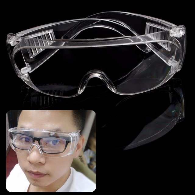 f0a9f88832e0 Clear Vented Safety Goggles Eye Protection Protective Lab Anti Fog Glasses  Welding mask