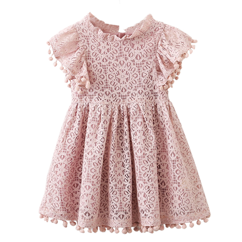 Kids Girl Ball Gown Dress NEW White Toddler Girl Summer Lace Dress 6 7 8 Year Princess Birthday Party Dress Children Clothing ems dhl free shipping toddler little girl s 2017 princess ruffles layers sleeveless lace dress summer style suspender