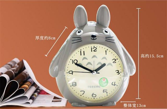 Totoro Quartz Table Clock (3 Colors)