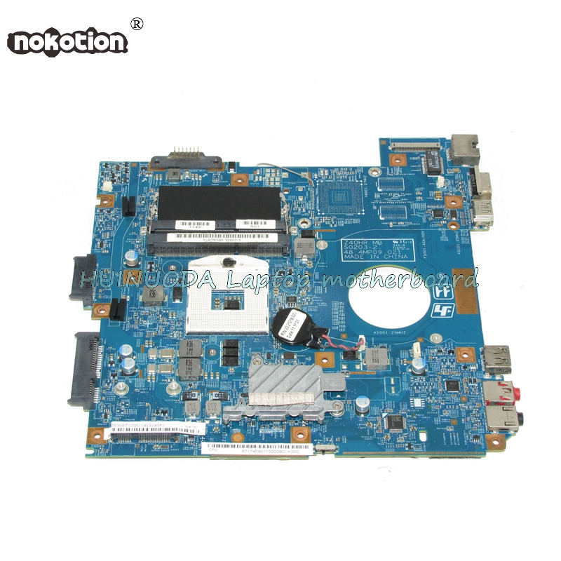 NOKOTION A1829659A MBX-250 48.4MP06.021 Laptop motherboard for VPCEG SERIES VPCEG25FX EG16F PCG-61A14L Mainboard works nokotion for acer aspire 5750 laptop motherboard p5we0 la 6901p mainboard mbrcg02005 mb rcg02 005 mother board
