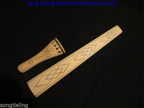 Baroque Style Nature Maple 4/4 Violin Fingerboard /tailpieces Online Discount Musical Instruments