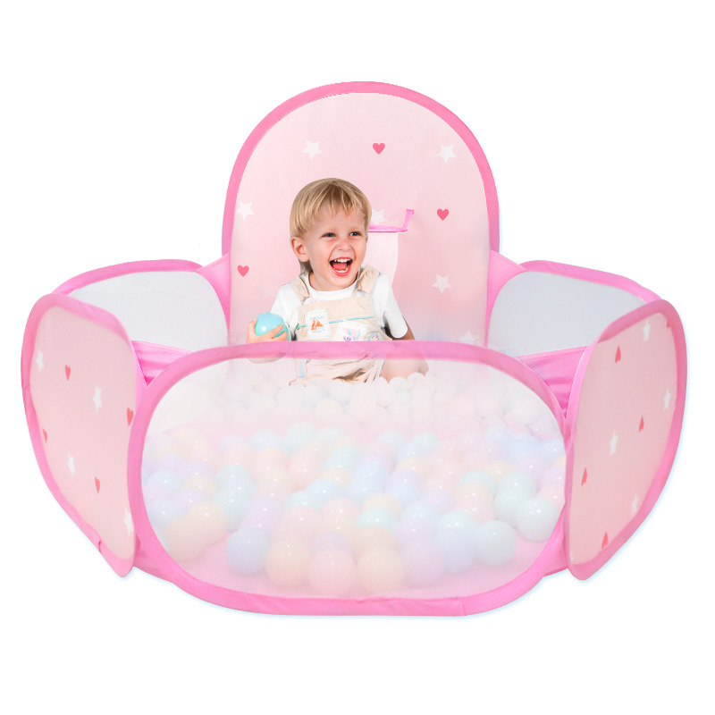 Pink Princess Toy Tent For Baby Kids Ball Pit Ocean Ball Pool Outdoor Sports Indoor Games Play House Tents With 30pcs Balls