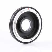 Hersmay Adapter ring for Canon FD/FC Lens to Nikon D810 D750 D7200 D3300 D5500 dslr camera body w/ Glass+ len Caps