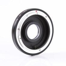 Кольцо адаптер Hersmay для объектива Canon FD/FC для Nikon D810 D750 D7200 D3300 D5500 dslr, корпус камеры со стеклом + колпачки линзы