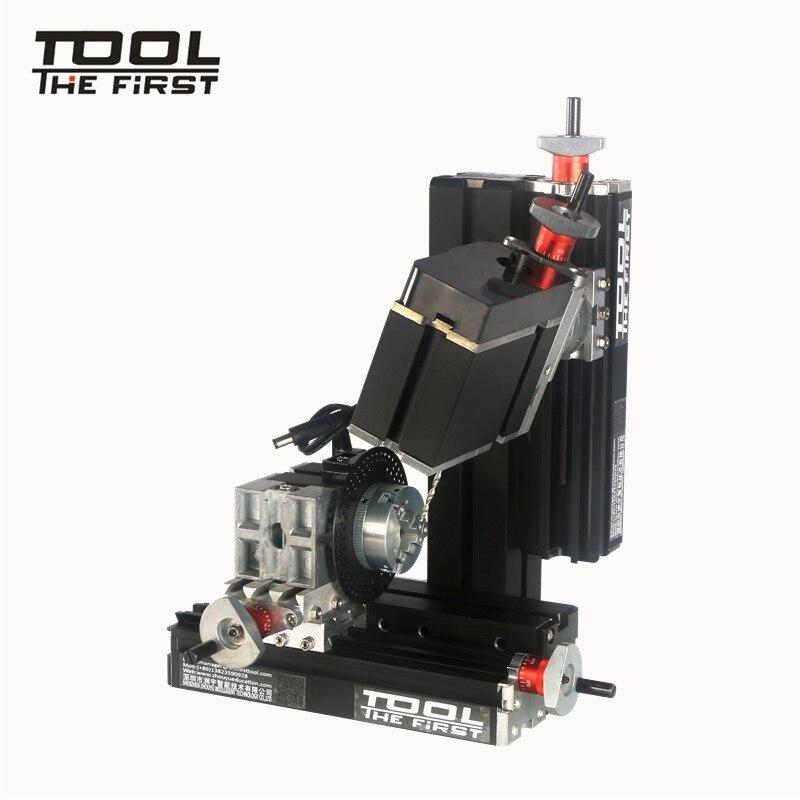 Thefirsttool TZ10002MS duża moc Mini Meta sześć-wały wiertarko-frezarka 12000r/min 60W silnik dzieci DIY najlepszy prezent