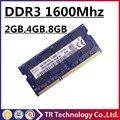 ПРОДАЖА ОПЕРАТИВНОЙ ПАМЯТИ DDR3L DDR3 4 ГБ 8 ГБ 2 ГБ 1600 мГц Pc3-12800 Sodimm Памяти Ноутбука, ОПЕРАТИВНОЙ ПАМЯТИ DDR3 1600 4 ГБ pc3-12800S notebook, memoria DDR3 8 ГБ
