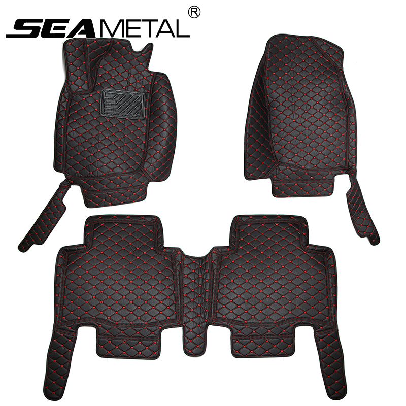 LHD For Chevrolet Cruze 2008 2009 2010 2011 2012 2013 2014 2015 2016 Car Floor Mats Leather Interior Auto Rugs Pads Accessories car rear trunk security shield cargo cover for jeep compass 2007 2008 2009 2010 2011 high qualit auto accessories