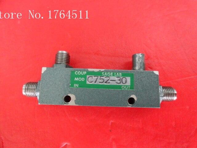 [BELLA] SAGE LABORATORIES C752-30 1-2GHz 30dB Coaxial Directional Coupler