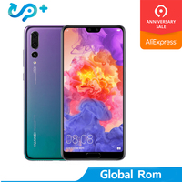 Global Rom Huawei P20 Smartphone Android 8.1 6G RAM 64G/128G ROM Kirin 970 Face ID 5.8'' Full View Screen EMUI 8.1 24MP Front