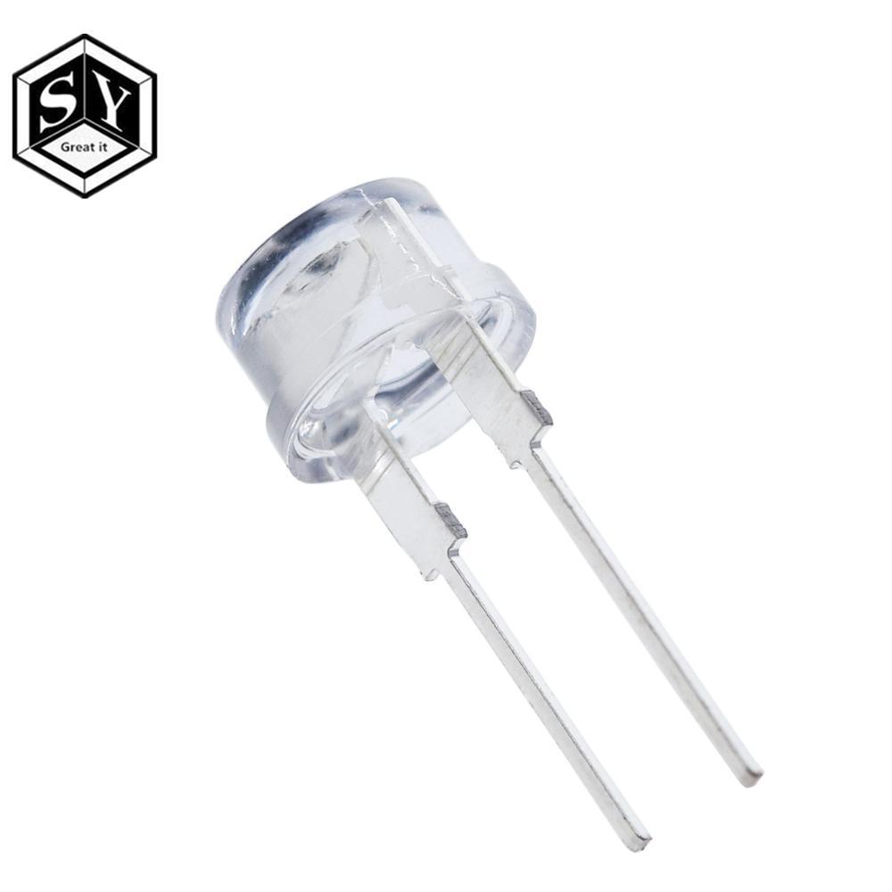 50pcs Superbright 10mm Round White LED Light Lamp Ultra Bright Red YG