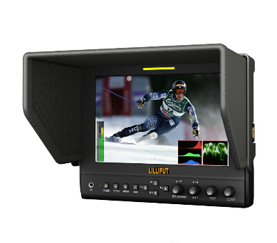 Photo Studio Accessories Lilliput 663 7inch IPS 1080P HDMI IN HD Monitor for DSLR Full HD Camcorder for Canon 5D2 5D3 II fenix сказка на английском gulliver in lilliput