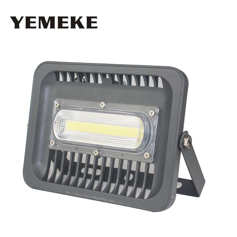 LED Projecteur 30 w 50 w 100 w 150 w Étanche IP66 85-265 v Chaud/Blanc Froid led spotlight Éclairage Extérieur Refletor LED rue Lampe