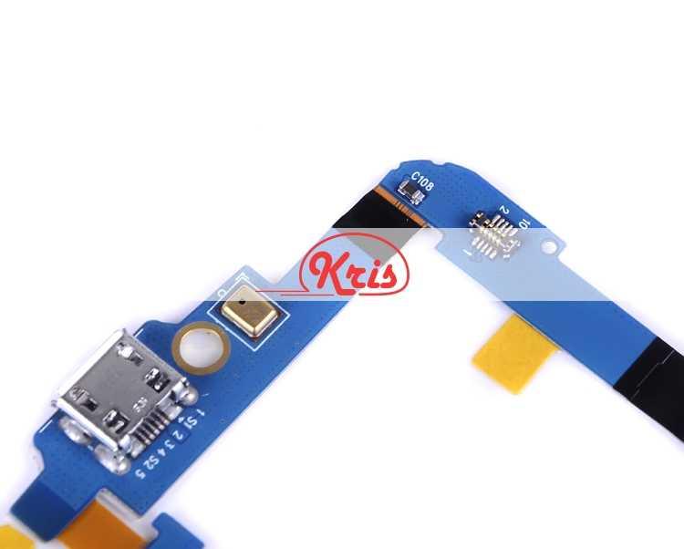1 قطعة HH لسامسونج غالاكسي نيكزس i9250 gt-i9250 جهاز شحن فليكس مجلس ميكروفون موصل لوحة الدوائر المطبوعة منفذ شحن USB يحل محل أجزاء