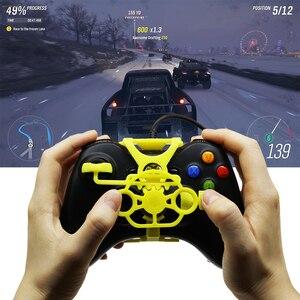 Image 4 - Xbox 360 משחקי מירוץ גלגל, 3D מודפס מיני הגה להוסיף על עבור Xbox 360 בקר