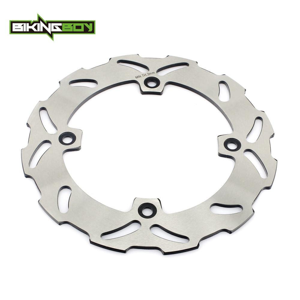 BIKINGBOY Rear Brake Disc Rotor Disk For SUZUKI TS 125 250 R DR250SE 93-95 DR 250 350 S DR350SE 94 95 96 97 98 99 DR 250 350 SE