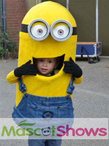 Custom Made kids Despicable Me Cartoon Minion Mascot Costumeminions costume for kids For Halloween  sc 1 st  AliExpress.com & Custom Made kids Despicable Me Cartoon Minion Mascot Costumeminions ...