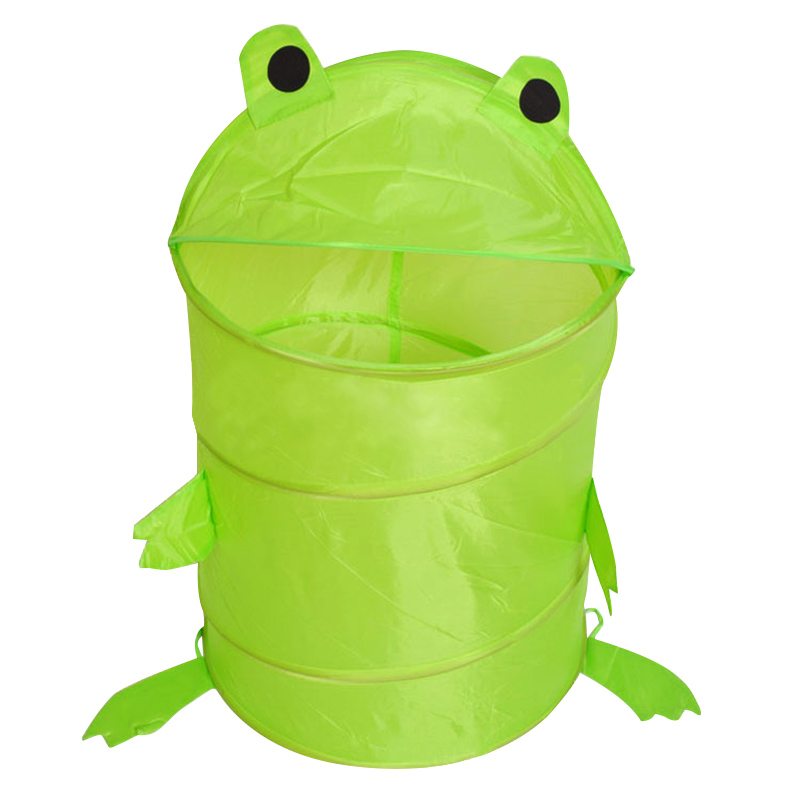 Cute Animal Collapsible Toy Storage Organizer Folding: Popular Frog Toy Box-Buy Cheap Frog Toy Box Lots From
