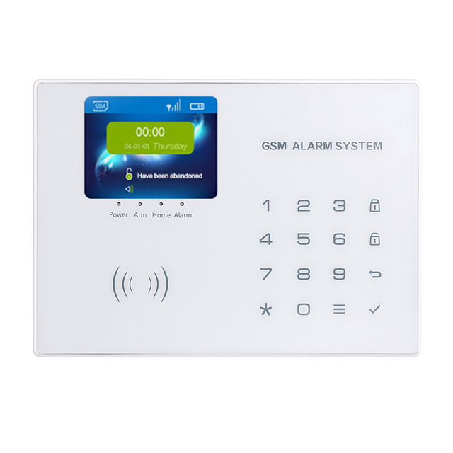 Android IOS App Wireless GSM Home Alarm System SIM Smart Home Burglar Security Alarm System Kit PIR infrared Wifi Security Alarm