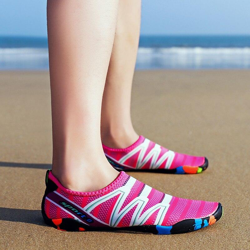 beira-mar chinelos de secagem rápida upstream luz calçados esportivos