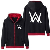 Drop Shipping Spring Antumn Hoodies Sweatshirts Alan Walker Printed men's jacket Fleece Hoody Coat Casual Fashion Clothes