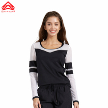 Women Long Sleeve Hoodies Hollow Out Solid Color Black Sports Jerseys Soft Running Shirts White Yoga Top Workout Clothes,1FT1136