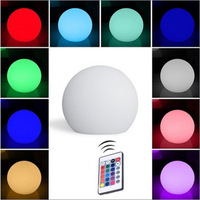 Factory supply round led lamp ball bluetooth APP remote control charging colorful household gift scene lighting