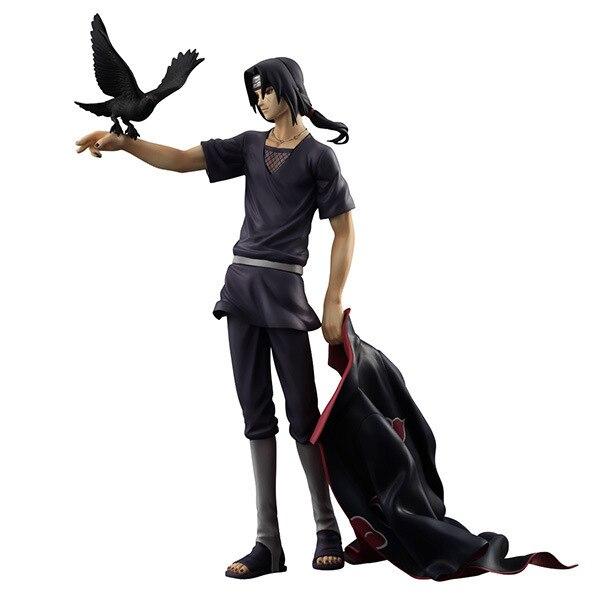 Naruto Shippuden Uchiha Itachi PVC Action Figure Collectible Model Toy Doll 27cm KT1322