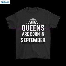 GILDAN Queens Are Born In September Shirts(China)