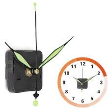 Бесшумные кварцевые настенные часы шпиндель механизм часть